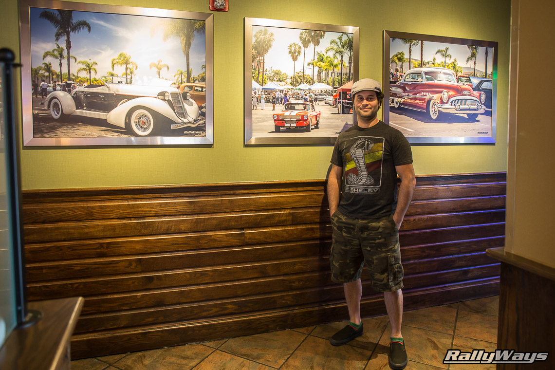 Applebee's San Marcos Features RallyWays Car Photography
