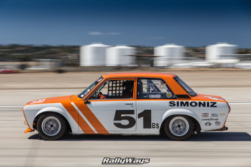 1969 Datsun 510 Race Car in Action