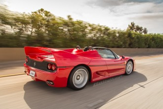 Ferrari F50 Rolling to Bella Italia