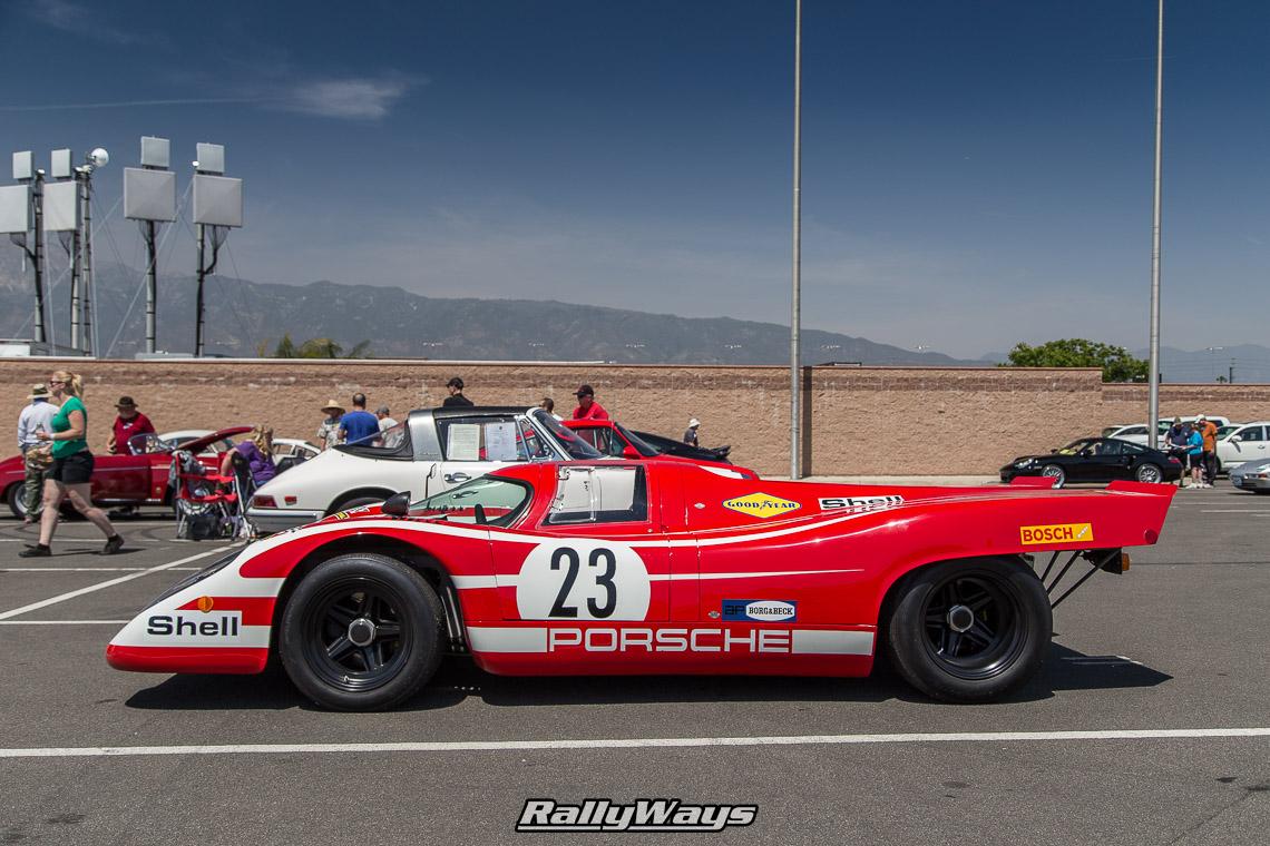 Porsche Racing at California Festival of Speed - RallyWays