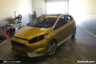 Ford Fiesta ST Wrap Job - Stage 1