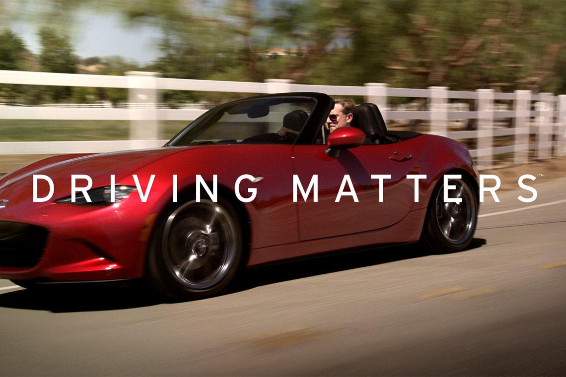 Mazda's Driving Matters ND Miata Commercials