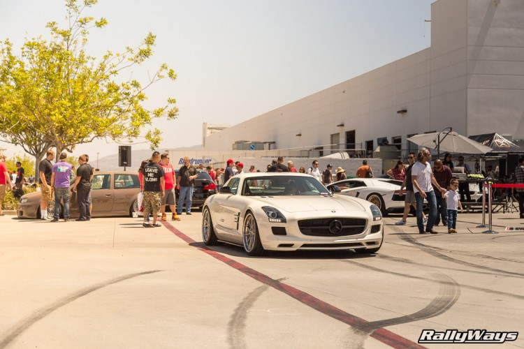 Mercedes SLS AMG at HREOH
