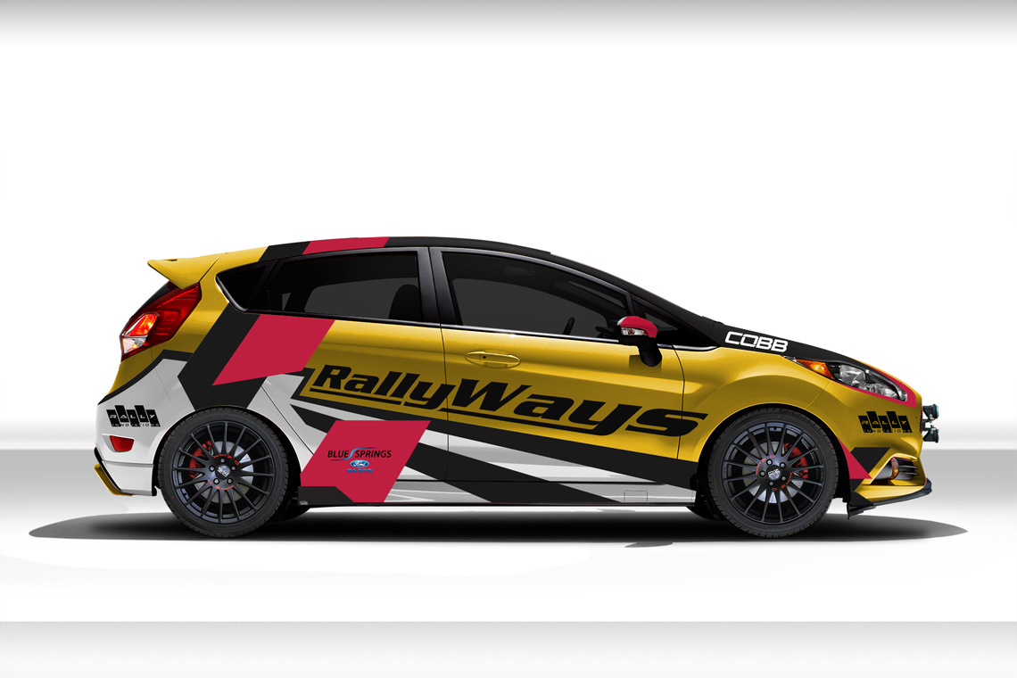 RallyWays Fiesta ST Livery Reveal