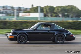 Black Porsche 964 Targa