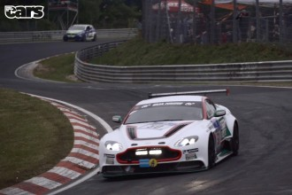 Chris Harris Aston Martin GT12 Nürburgring 24 Hour