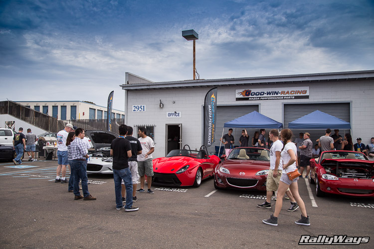 Full Event - ND Miata Launch Party