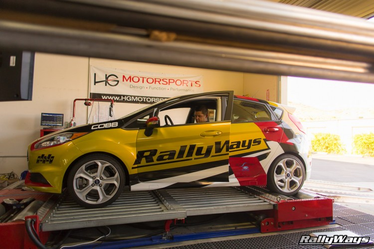 HG Motorsports Dyno and the RallyWays Fiesta ST