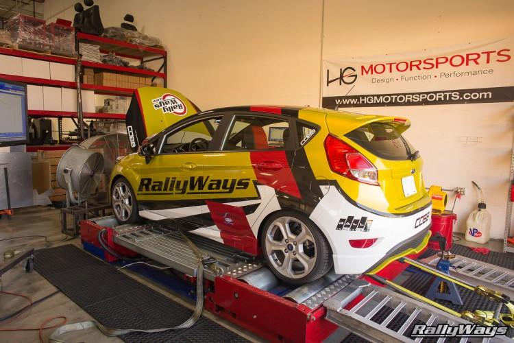 HG Motorsports RallyFist RallyWays Fiesta ST Dyno Run