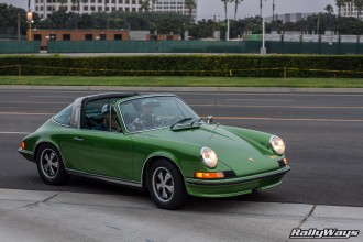 Long Bonnet Porsche 911 Targa