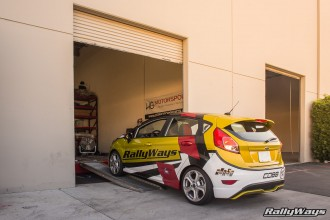 RallyWays Fiesta ST at HGMS