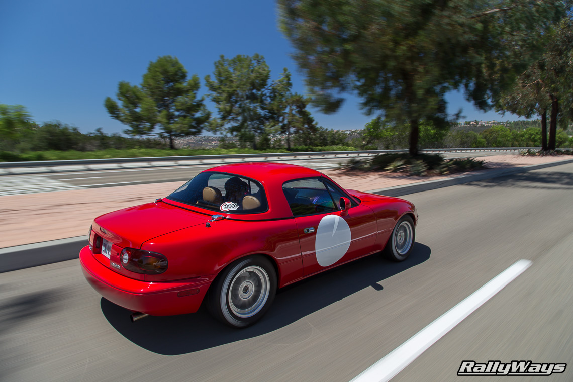 1995 RallyWays Miata Rolling Shot