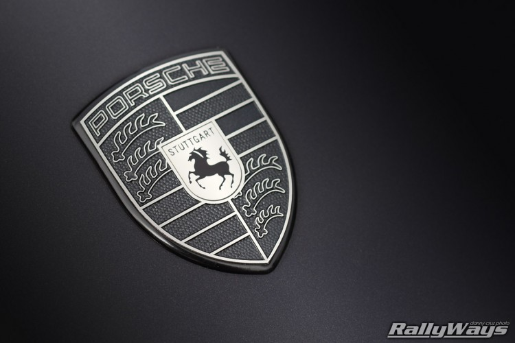 Monochromatic Porsche Emblem - Stuttgart Coat of Arms