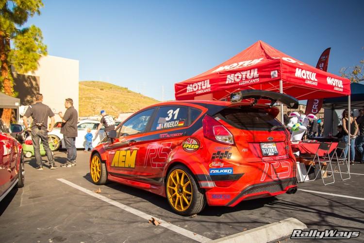 Sparco Assetto Gara on a Fiesta ST