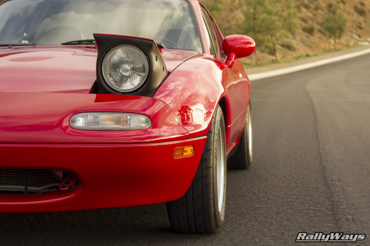 1995 Miata Front Quarter - Popup Headlights