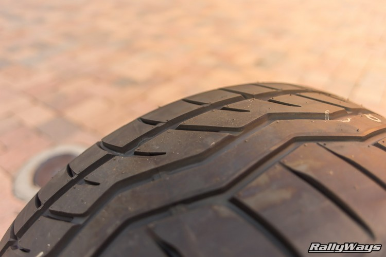 Falken Azenis RT615K Tire Tread - DOT-Approved track tire