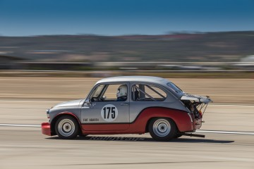 Classic Fiat Abarth Race Car Number 175