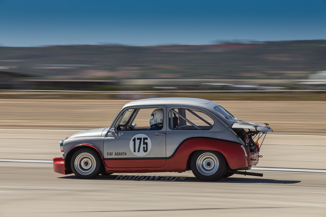 Classic Fiat Abarth Race Car Rallyways
