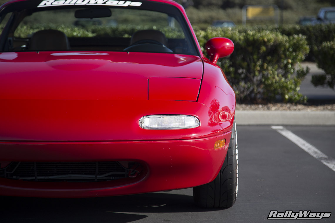 Mazda Miata Close Up - RallyWays