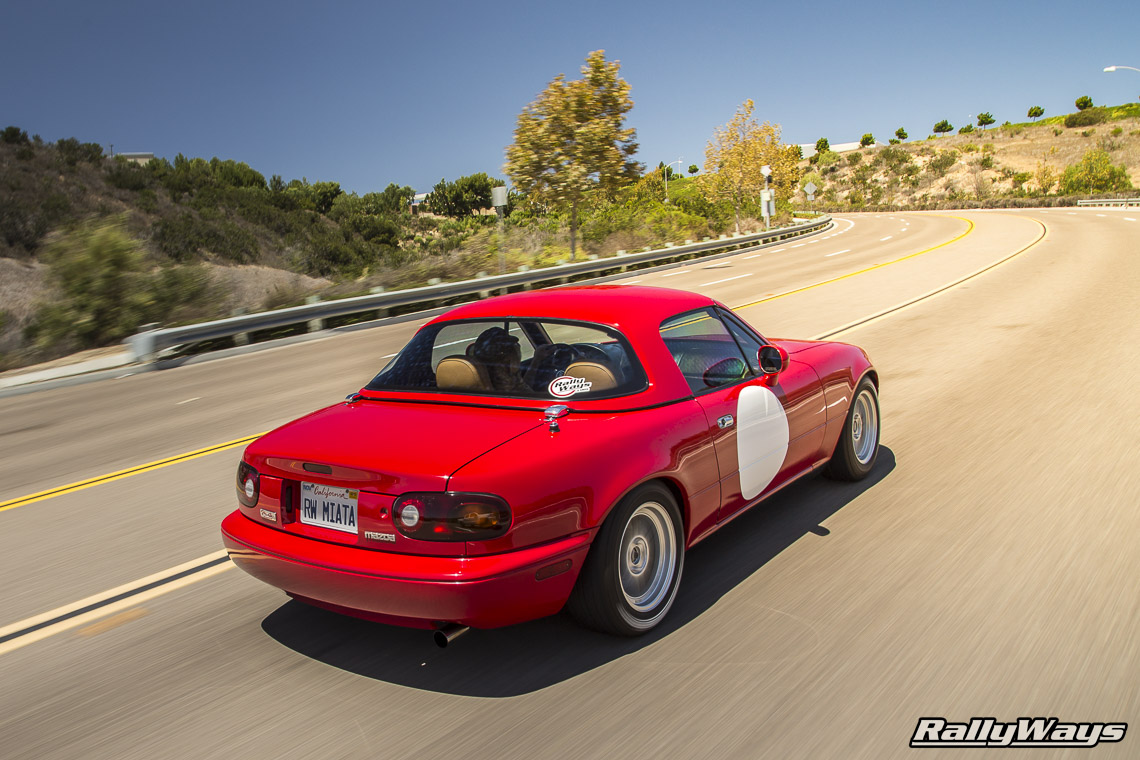 RallyWays Miata MX-5 Rolling Photo