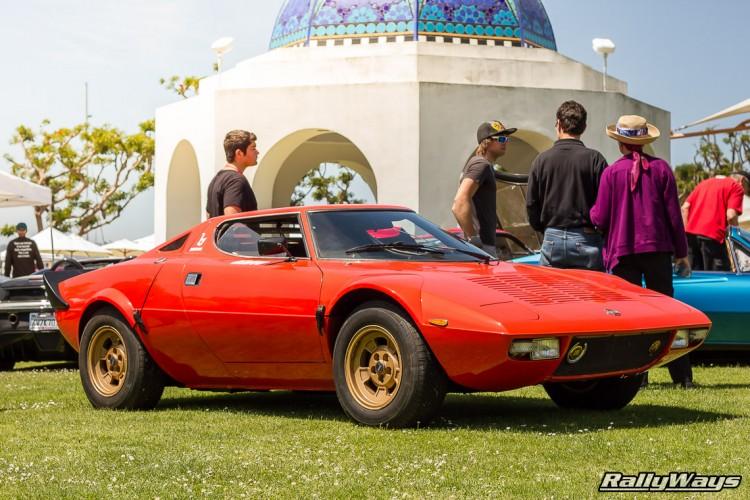 Red Lancia Stratos