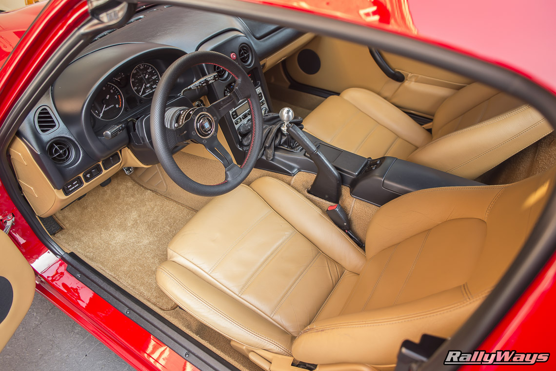 Mazda MX-5 Miata Tan Interior