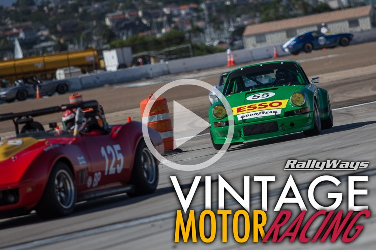 Vintage Motor Racing Time-Lapse Video