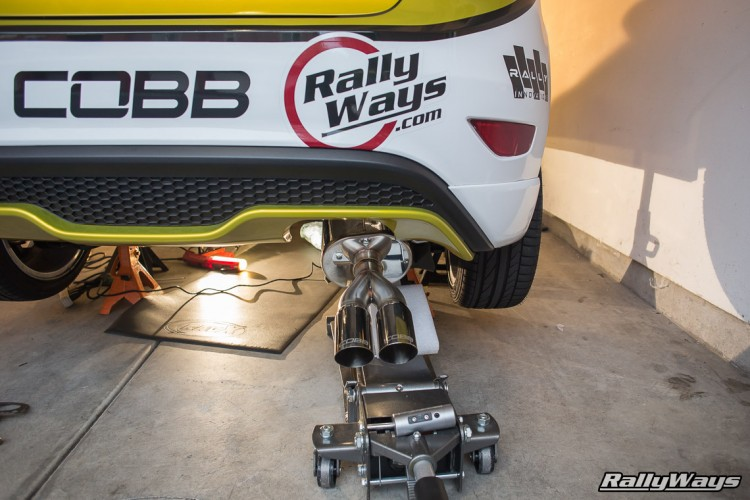 COBB Tuning Ford Fiesta ST Catback Exhaust