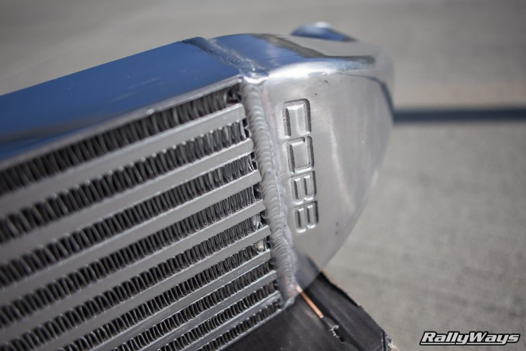 Close Look at a COBB Tuning Ford Fiesta ST Intercooler
