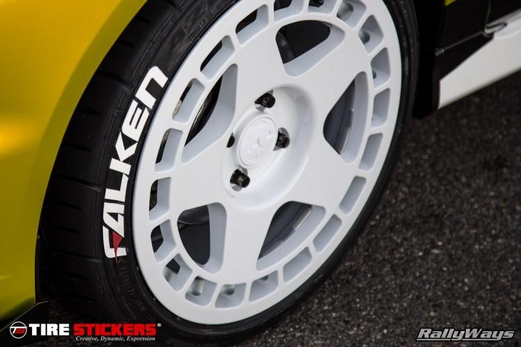 Falken Tire Stickers by TireStickers.com