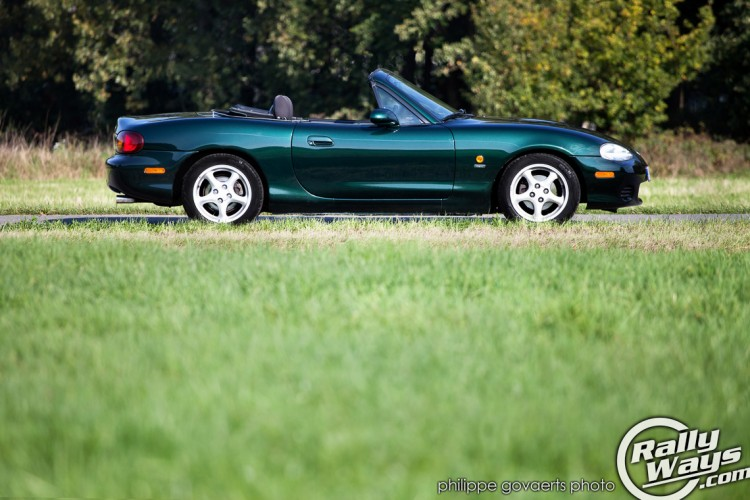 Poorboy's Black Hole Glaze on a Green Emerald Mica NB MX-5 Miata