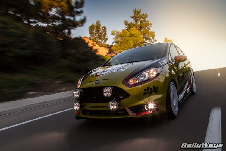 RallyFist Fiesta ST Rolling Shot - RallyWays