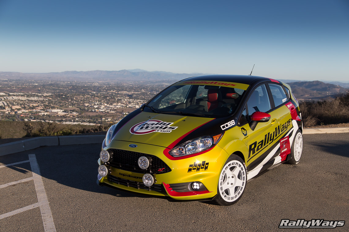 RallyWays Ford Fiesta ST Parts List - #RallyFist