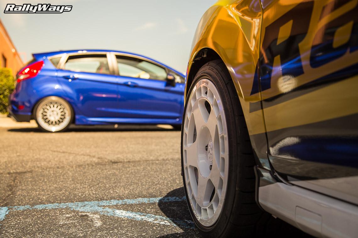 RallyFist SEMA Car - RallyWays Ford Fiesta ST.