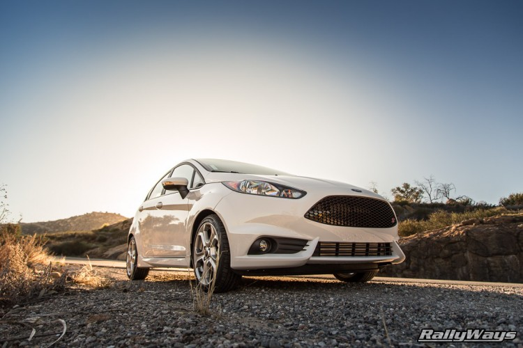 White Fiesta ST Stock