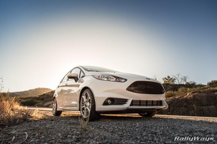 White Fiesta ST Stock