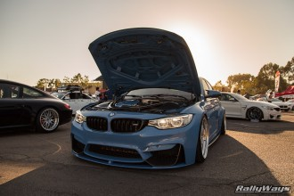Yas Marina Blue M3 Backlit Sunset