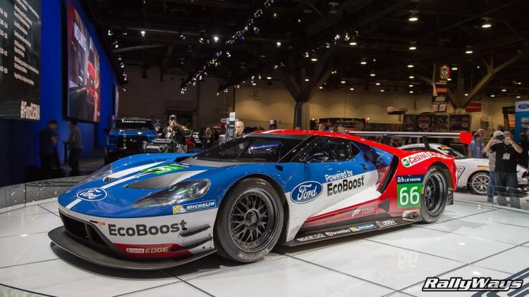 Ford GT Lemans Car - SEMA 2015