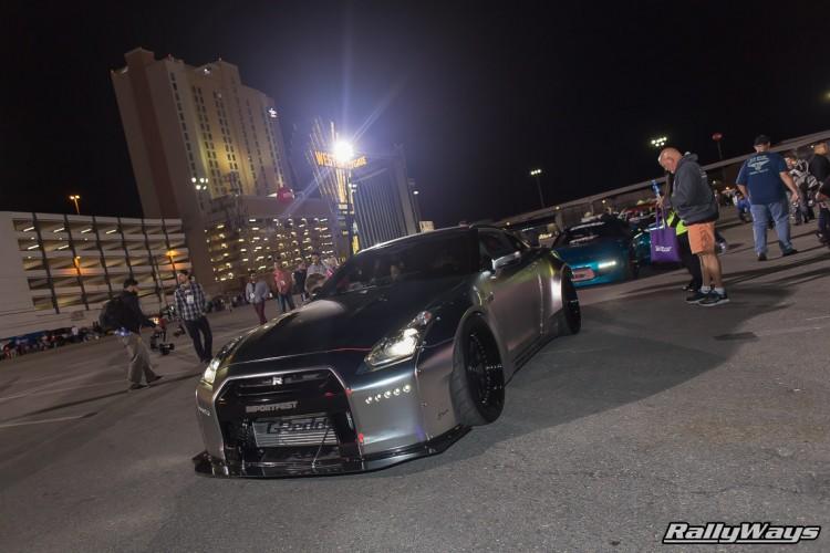 Godzilla Nissan GT-R SEMA Ignited 2015