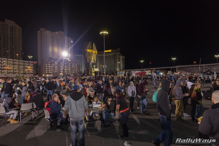 The crowd at SEMA Ignited 2015
