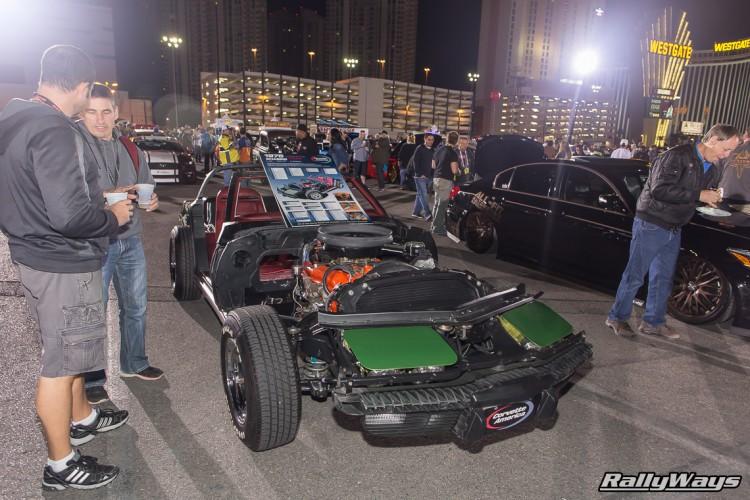 Classic C3 Corvette Open Chassis