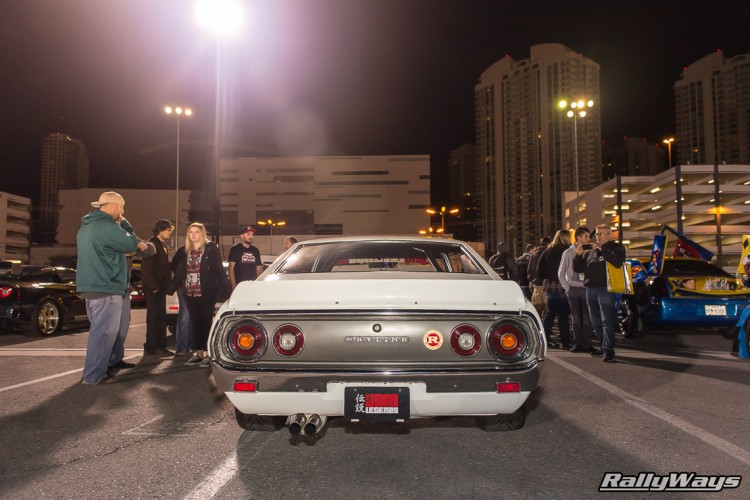 Classic Nissan Skyline at SEMA Ignited 2015.