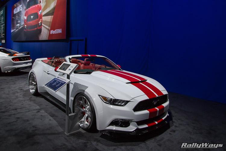 SEMA 2015 Mustang Display