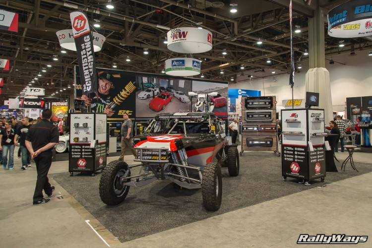 Baja Designs Booth at SEMA 2015
