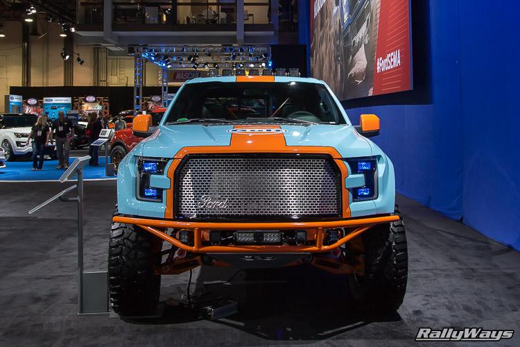Gulf Livery Ford F150 SEMA 2015