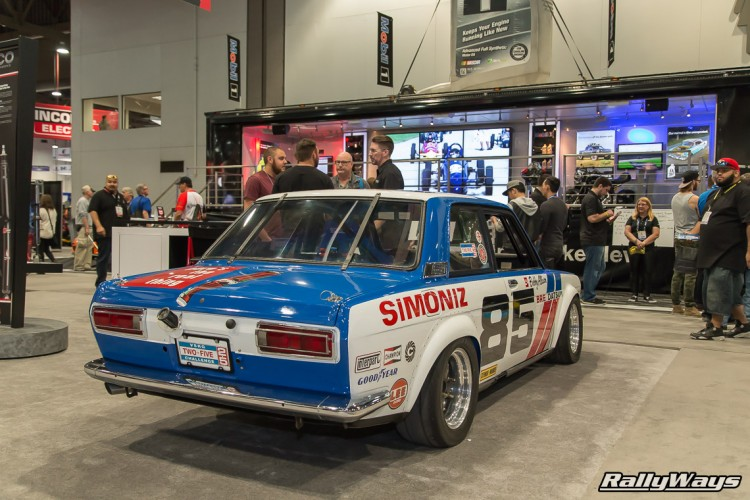 Nissan 510 Race Car SEMA 2015