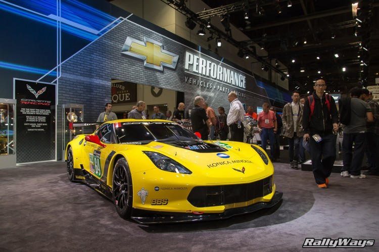 Corvette C7 Race Car SEMA 2015