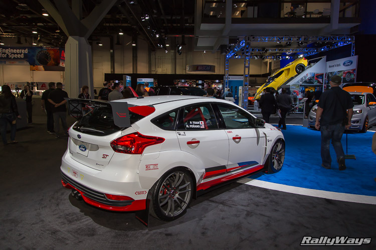 Rally Innovations Ford Focus ST SEMA 2015 - 4Rally Innovations Ford Focus ST SEMA 2015 - 4