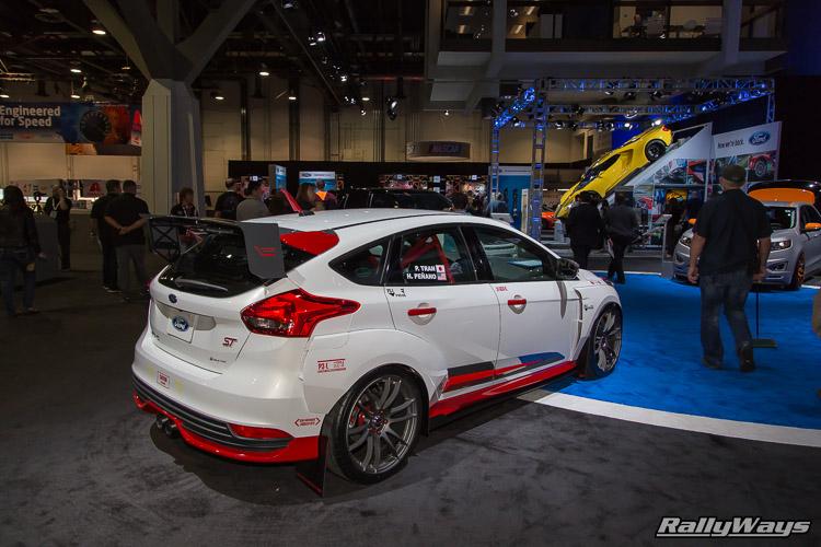 Rally Innovations Ford Focus ST SEMA 2015 - 4Rally Innovations Ford Focus ST SEMA 2015 - 4