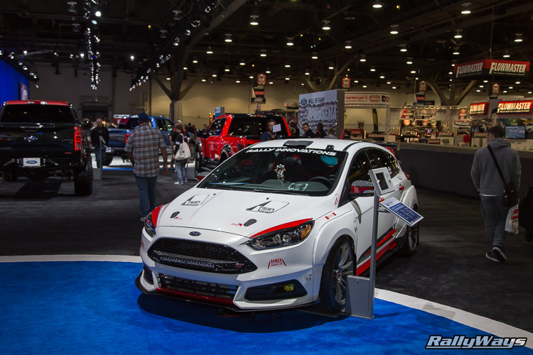 Rally Innovations Ford Focus ST SEMA 2015 - 5